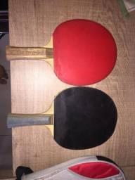 Vendo duas raquetes de tenis de mesa profissional