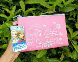 Necessaire silicone Anna & Elsa Frozen