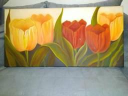 Quadro com flores