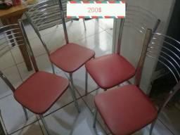 Kit com 4 cadeiras