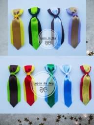 Laços e gravata banho e tosa