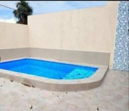Casa nova com piscina 2 quartos/ Aguas claras prox Natan Xavier