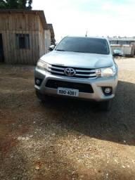 Toyota Hilux srv 2017 GNV - 2017