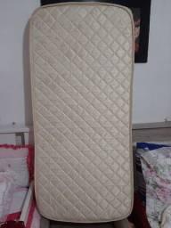 Pra levar Colchão para Berço Luckspuma Super com Espuma Antirrefluxo D18 12 x 60 x 130 cm