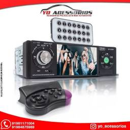 Central Multimídia 1Din 4 Polegadas Mp5 Fm Bluetooth Usb - Knup Kp-C25BH