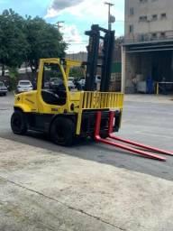 Empilhadeira Hyster H155FT, a Diesel, reformada e revisada