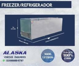 Congelador Inox Alaska