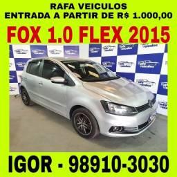 Volkswagen Fox 1.0 flex 2015 1 mil de entrada, falar com Igor qqw