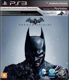 Jogo Batman Arkham Origins PS3 + Download de expansão do jogo