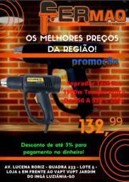 Soprador Térmico 1900w 350ºc À 550ºc 4 Bicos Hammer 220v