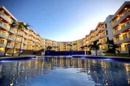 Condomínio Solarium no Porto das Dunas, apartamento com 3 quartos, nascente