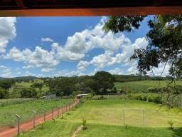 Chácara 5250 mts com Córrego, Piscina Aquecida, Campo de Futebol, Aceito Veículo - Inhumas