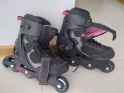 Patins n. 38.   Skate 4 rodas.  Skate 2 rodas
