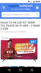 Smart TV 4K LED 55? Semp TCL P65US Wi-Fi HDR - 3 HDMI 2 USB