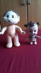 Duas bonecas de Borracha turma da Mônica