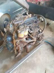 Motor Perkins com caixa d70 6 cilindros