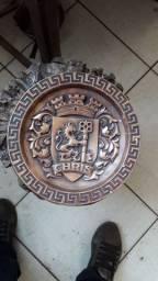 Peça antiga feita em bronze