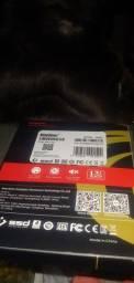 SSD 120GB Novinho. Na caixa