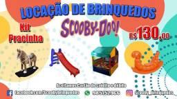Cama elástica e Piscina de Bolinhas - Locação de Brinquedos Scooby-Doo