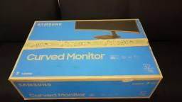 """Monitor Curvo Samsung 32"""" Fhd, 75 hz preto"""