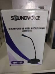 Microfone de bancada Soundvoice MM100