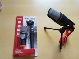 Sf-666 Microfone Condensador Podcast Profissional Youtube/Podcast/Rádio/Vídeo Chamada