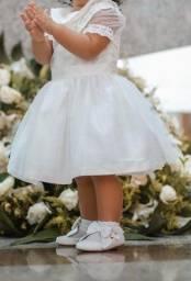 Vestido para batizado infantil