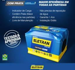 Baterias Eletran 12meses