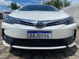 Toyota Corolla XEI 2.0 Aut 2018 IMPECÁVEL