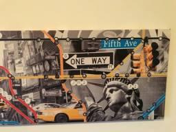 Quadro Horizontal Canvas Cidade de Nova Iorque