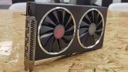Placa de vídeo RX 5600 XT PowerColor Red Dragon 6GB