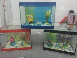 aquario tematico bob esponja
