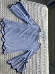 Blusa Zara azul
