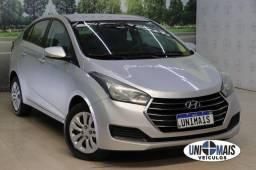 Título do anúncio: Hyundai hb20s 1.0 prata completo+ couro,  novissimo!