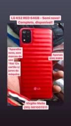 LG K52 RED 64GB novinho