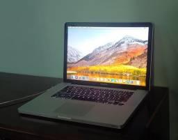 Macbook Pro 2011 i7 RAM 6gb SSD 120gb