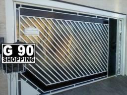 Instalamos Policarbonato no Portão - G 90 Shopping