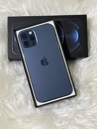 IPhone 12 Pro 256gb Azul Zero na caixa.