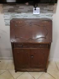 escrivaninha antiga retro colecionador