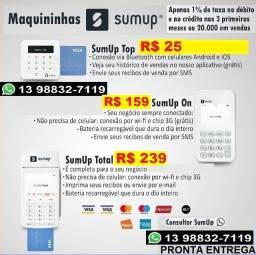 Maquininha cartão de debito/credito  Sum Up
