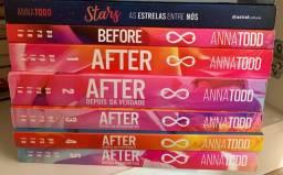 todos os livros da série after+livro autografado
