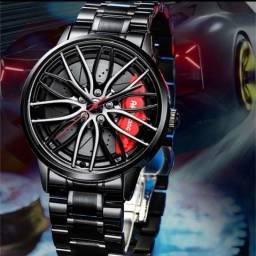 Relógio roda de carro