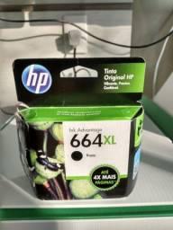Cartucho HP 664 XL preto