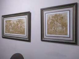 Quadros Gorberlin tapete estilo francês.