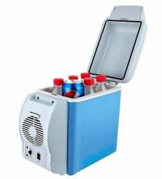 Mini Geladeira Cooler Termoelétrica Automotiva Portátil de Fácil