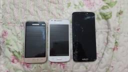 Celulares J1 mini, Galaxy core plus, Moto G6 play