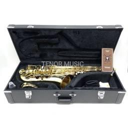 Sax Tenor Eagle St503 Semi-Novo