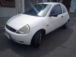 Ford KA GL 1.0 ano 2007 Cor Branca  ( VTE)