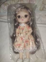 Vendo Boneca Dress Up Realista Coreana Articulada