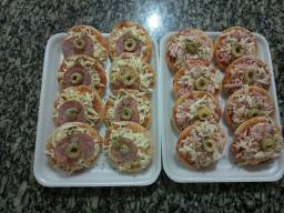 Salgado para festa!  Mini Pizzas de alta qualidade